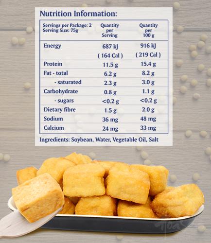 Fried Tofu 150g Pack_hoasen tofu