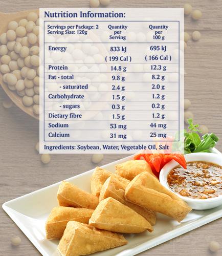 Fried Tofu 240g Pack_hoasen tofu